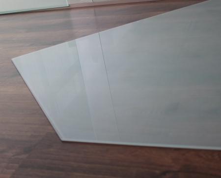 f nfeck frosty 130x130cm funkenschutzplatte milchglas. Black Bedroom Furniture Sets. Home Design Ideas