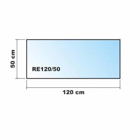 120x50cm glas schwarz echtglas k chenr ckwand spritzschutz. Black Bedroom Furniture Sets. Home Design Ideas