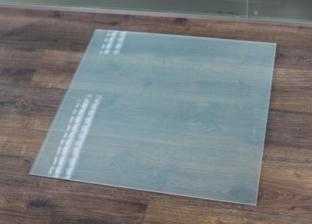 rechteck frosty 70x60cm kamin vorlegeplatte milchglas. Black Bedroom Furniture Sets. Home Design Ideas