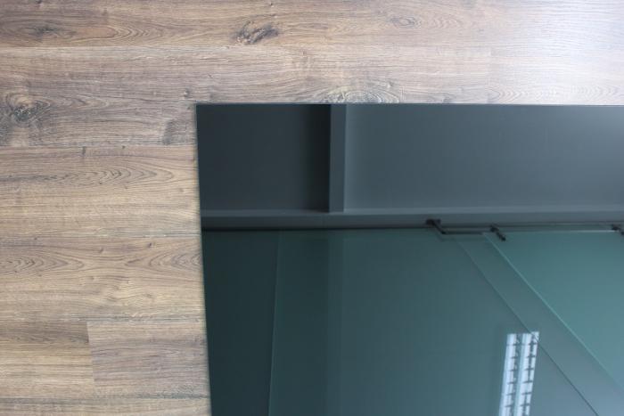 100x40cm glas schwarz echtglas k chenr ckwand spritzschutz. Black Bedroom Furniture Sets. Home Design Ideas