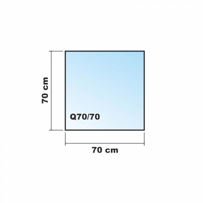 quadrat frosty 70x70cm kamin vorlegeplatte milchglas. Black Bedroom Furniture Sets. Home Design Ideas